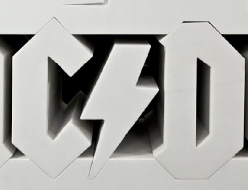 "AC/DC 40th Anniversary ""Hard as a Rock"" 2013 (detail)"