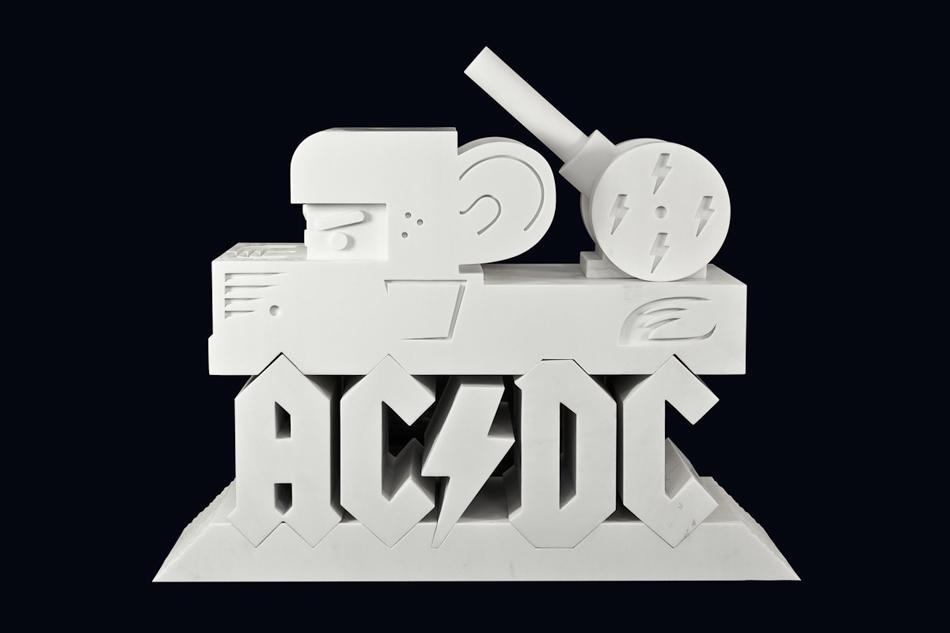 Abdul Vas AC/DC 40th Anniversary 01. AC/DC Original Artwork