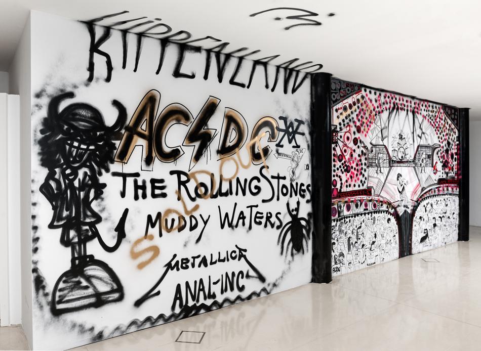 Abdul Vas AC/DC LIVE 2013. AC/DC Original Artwork