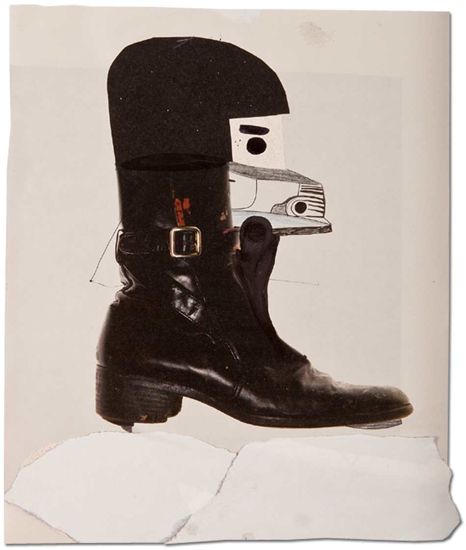 Abdul Vas Andy Warhol Boots