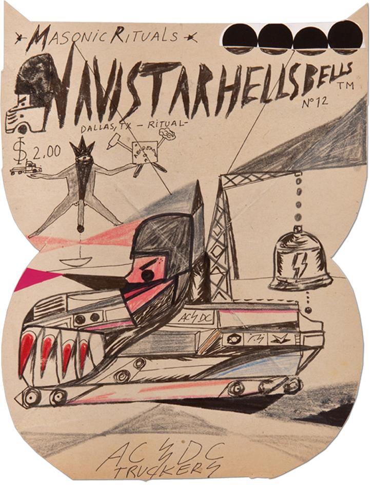 Abdul Vas Hell's Bell. AC/DC Original Artwork