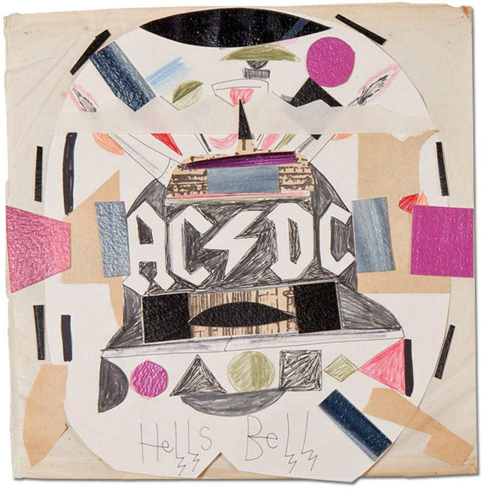 Abdul Vas Back in Black. AC/DC Original Artwork